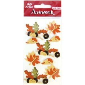 Autumn Leaves Craft Embellishment By Artoz