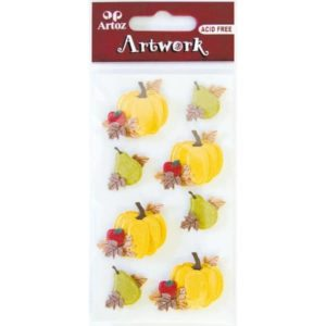 Autumn Fruits Craft Embellishment By Artoz
