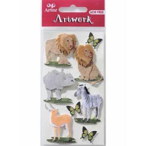 Animal World 1 Craft Embellishment By Artoz