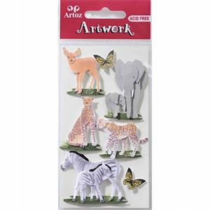 Animal World 2 Craft Embellishment By Artoz