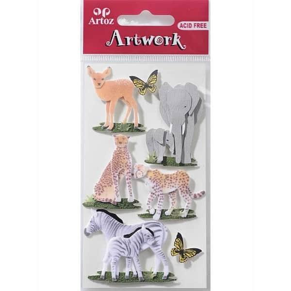 Animal World 2 Craft Embellishment By Artoz