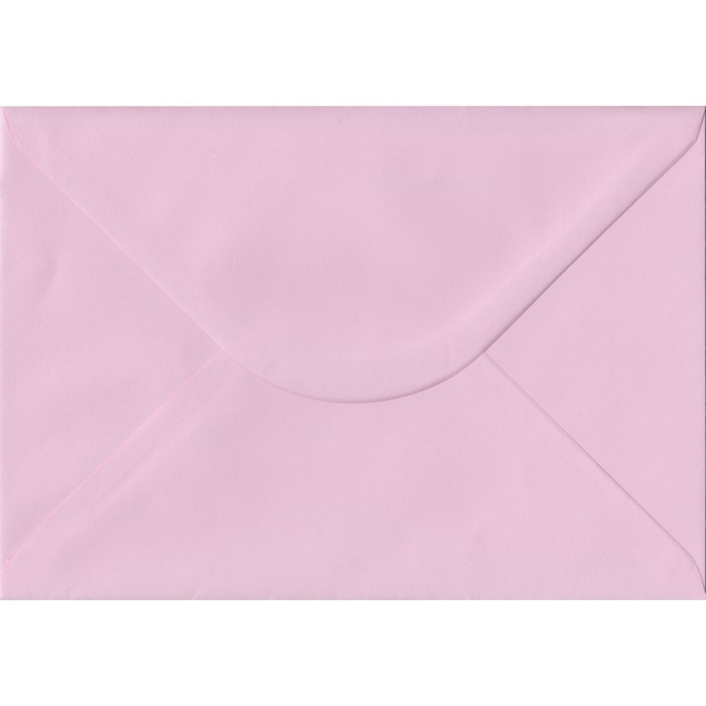 Baby Pink Pastel Gummed C5 162mm x 229mm Individual Coloured Envelope