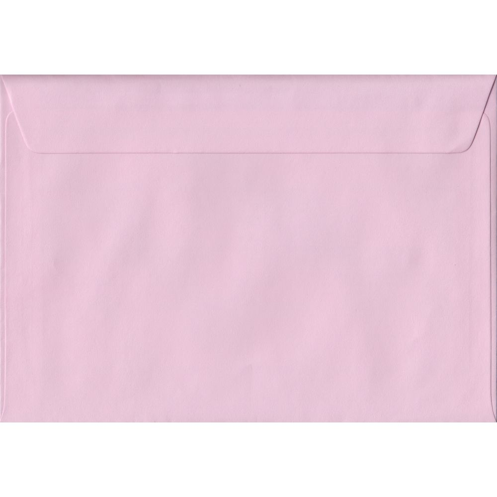 Baby Pink Pastel Peel And Seal C5 162mm x 229mm Individual Coloured Envelope