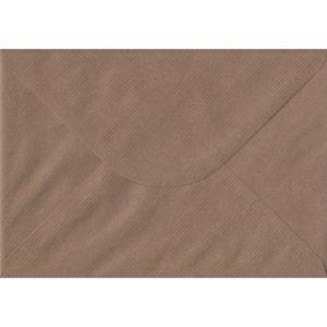 Brown Ribbed Premium Gummed C5 162mm x 229mm Individual Coloured Envelope