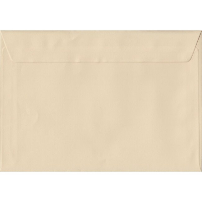 Cream Pastel Peel And Seal C6 114mm x 162mm Individual Coloured Envelope