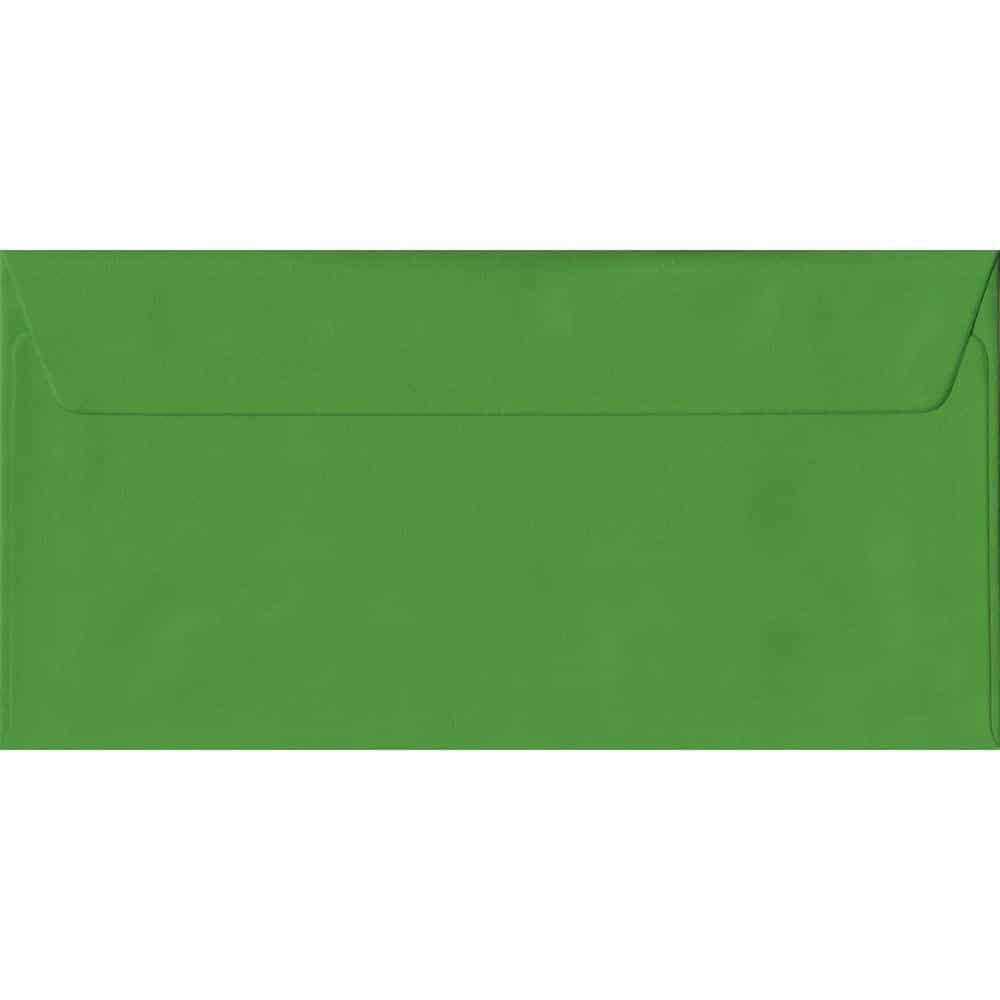 Fern Green Plain Peel And Seal DL 110mm x 220mm Individual Coloured Envelope