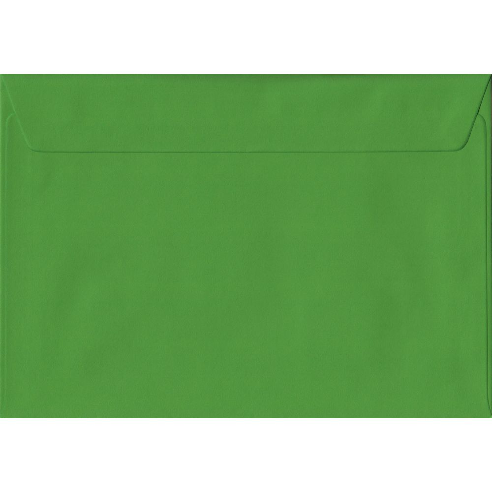 Fern Green Plain Peel And Seal C5 162mm x 229mm Individual Coloured Envelope