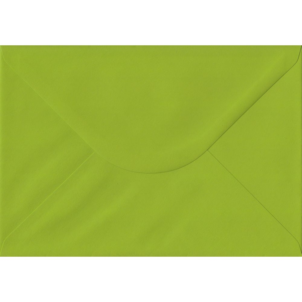 Fresh Green Plain Gummed C5 162mm x 229mm Individual Coloured Envelope