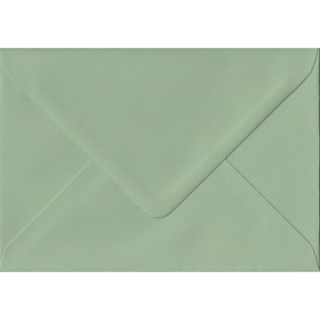 Heritage Green 152mm x 216mm Coloured Envelope