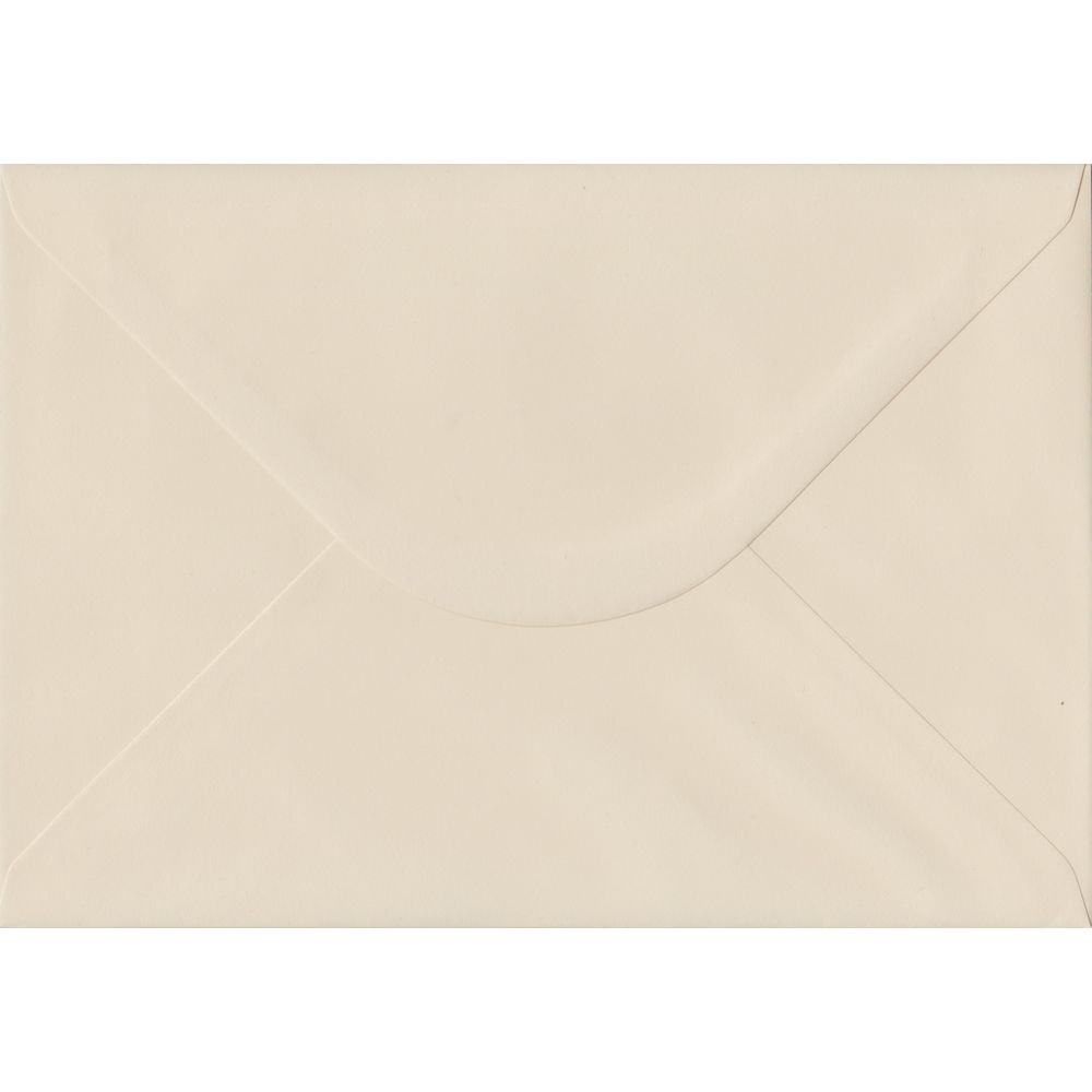 Ivory Pastel Gummed C5 162mm x 229mm Individual Coloured Envelope
