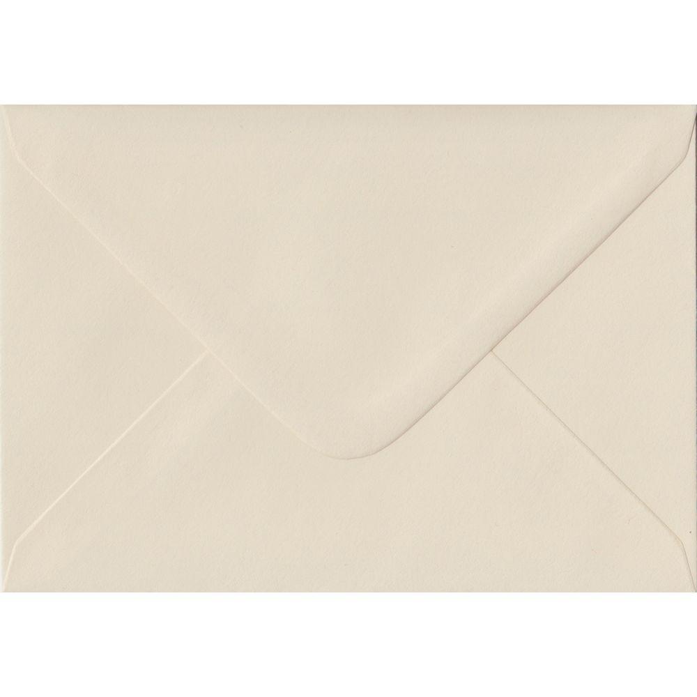 Ivory Pastel Gummed C6 114mm x 162mm Individual Coloured Envelope