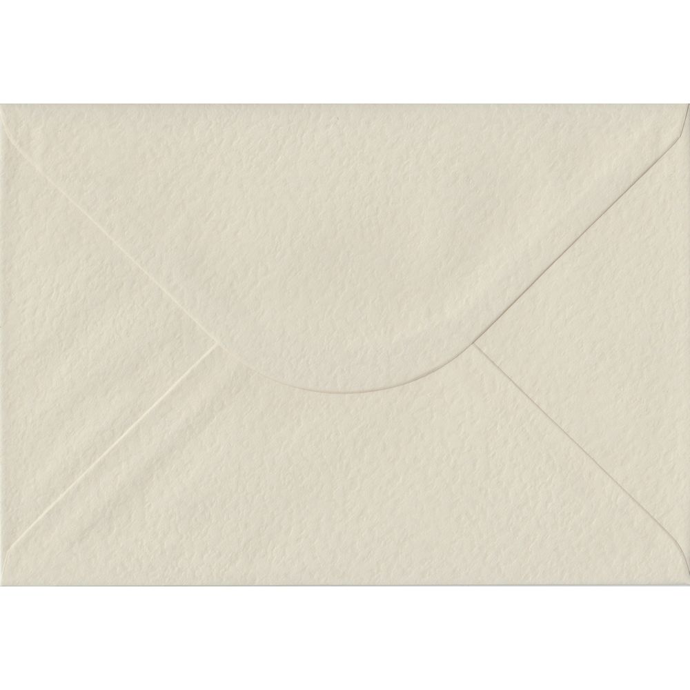 Ivory Hammer Textured Gummed C5 162mm x 229mm Individual Coloured Envelope