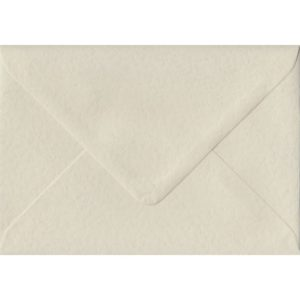 Ivory Hammer Textured Gummed C6 114mm x 162mm Individual Coloured Envelope