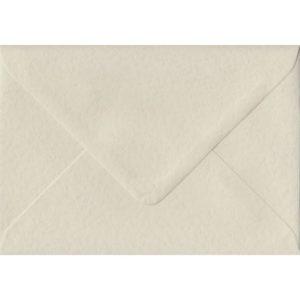Ivory Hammer Textured Gummed C6 114mm x 162mm Individual Coloured Envelope