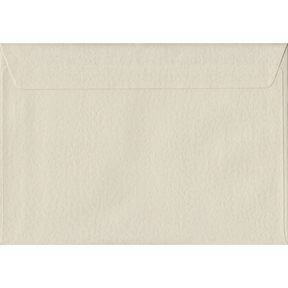 Ivory Hammer Textured Peel And Seal C5 162mm x 229mm Individual Coloured Envelope