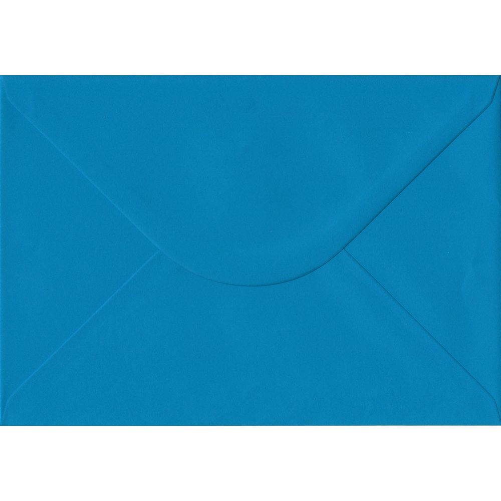 Kingfisher Blue Plain Gummed C5 162mm x 229mm Individual Coloured Envelope