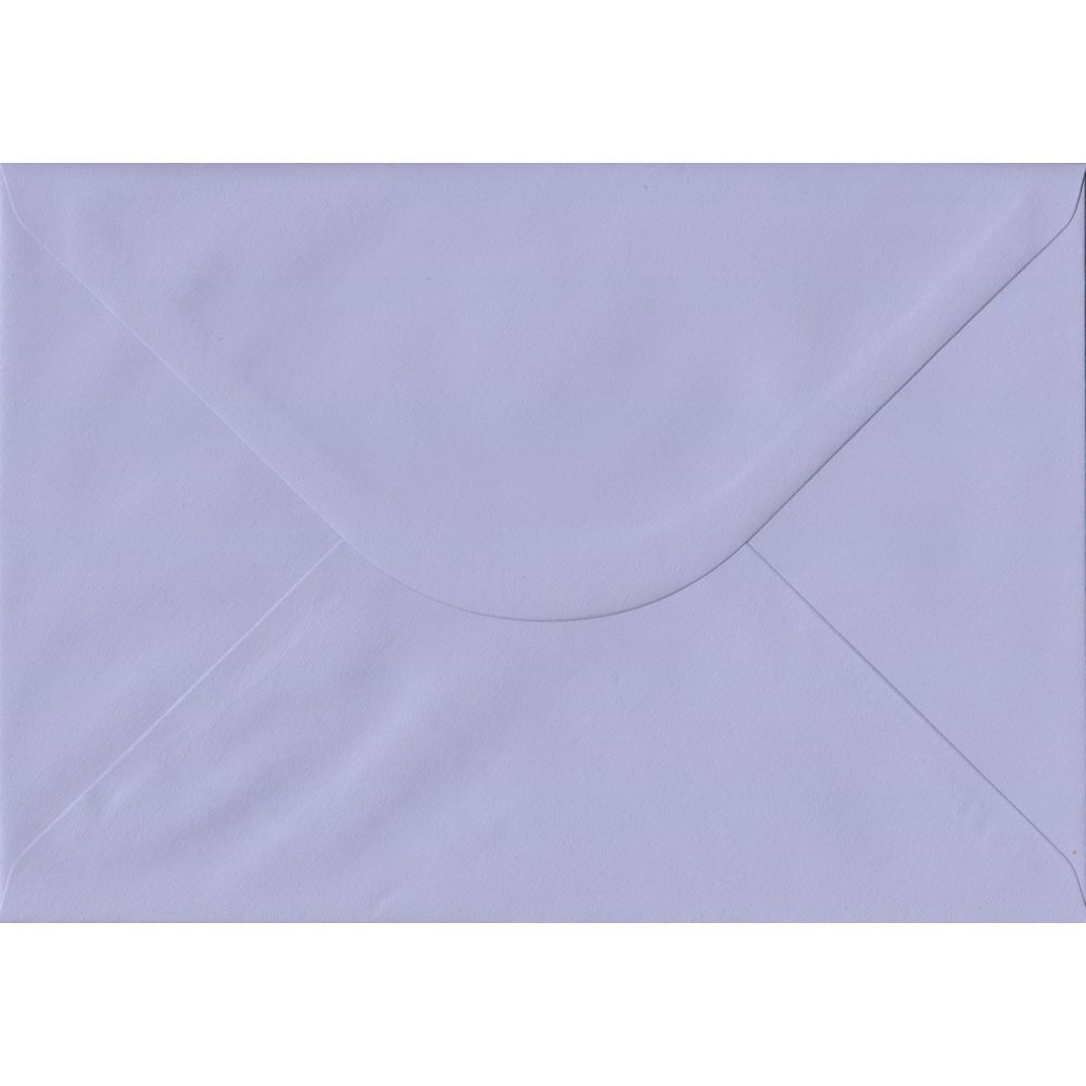 Lilac Pastel Gummed C5 162mm x 229mm Individual Coloured Envelope