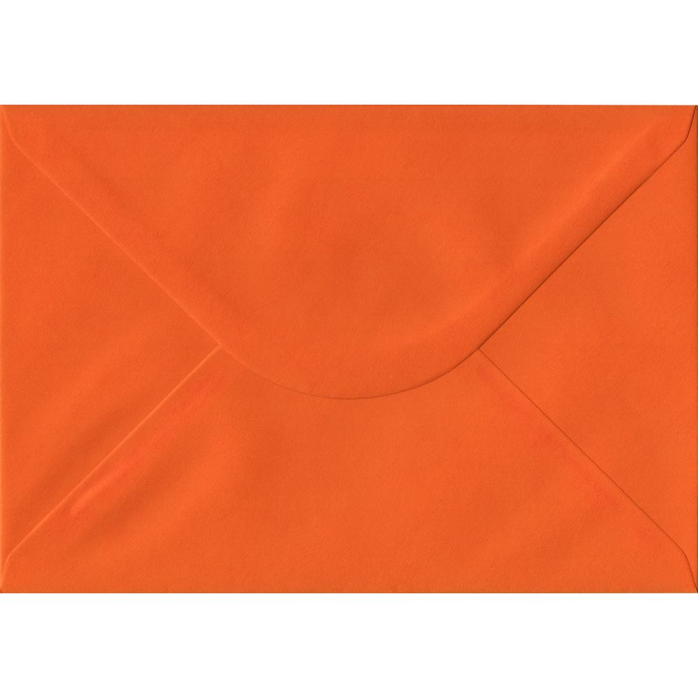 Orange Plain Gummed C5 162mm x 229mm Individual Coloured Envelope