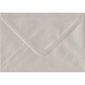 Pearlescent Oyster Gummed C6/A6 114mm x 162mm Gummed Individual Coloured Envelope