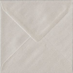 Pearlescent Oyster 130mm x 130mm Gummed Individual Coloured Envelope