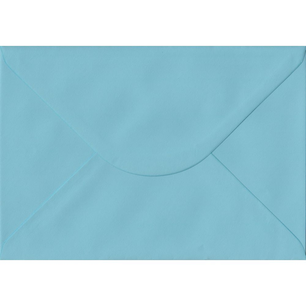 Blue Pastel Gummed C5 162mm x 229mm Individual Coloured Envelope
