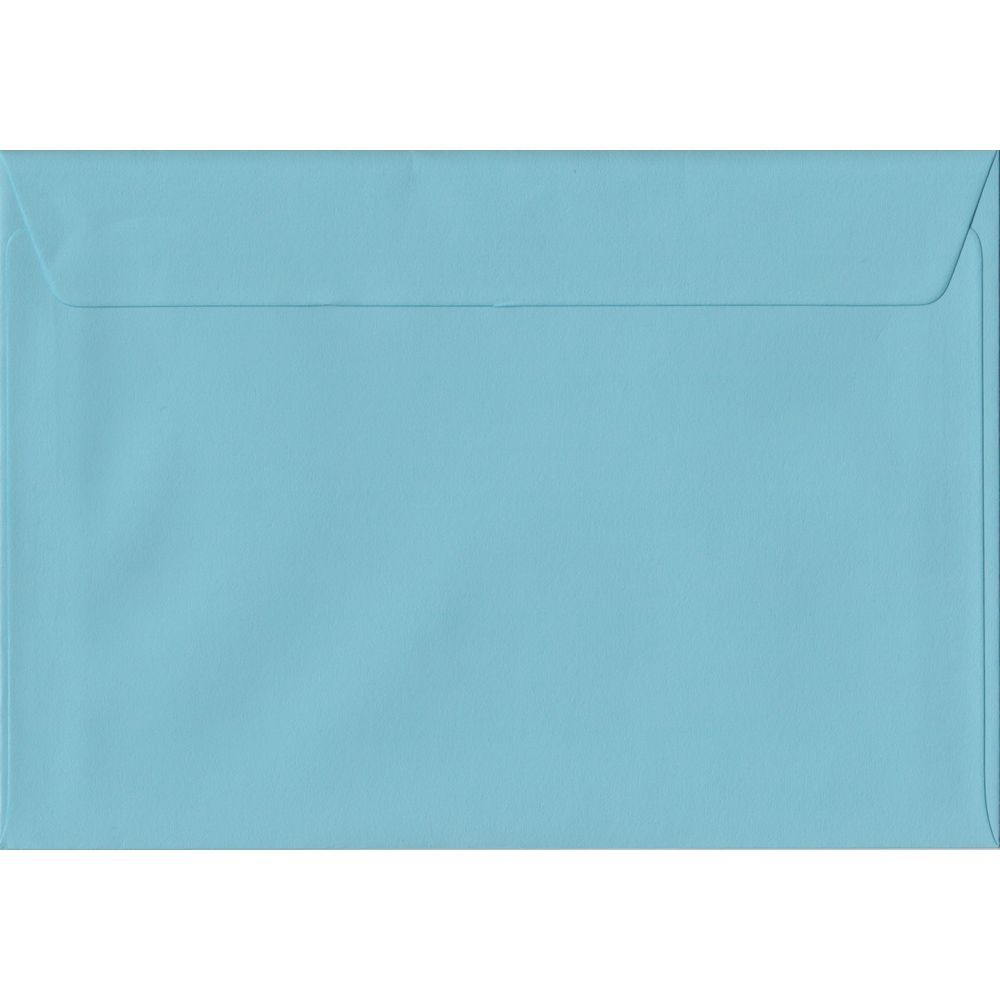 Blue Pastel Peel And Seal C5 162mm x 229mm Individual Coloured Envelope
