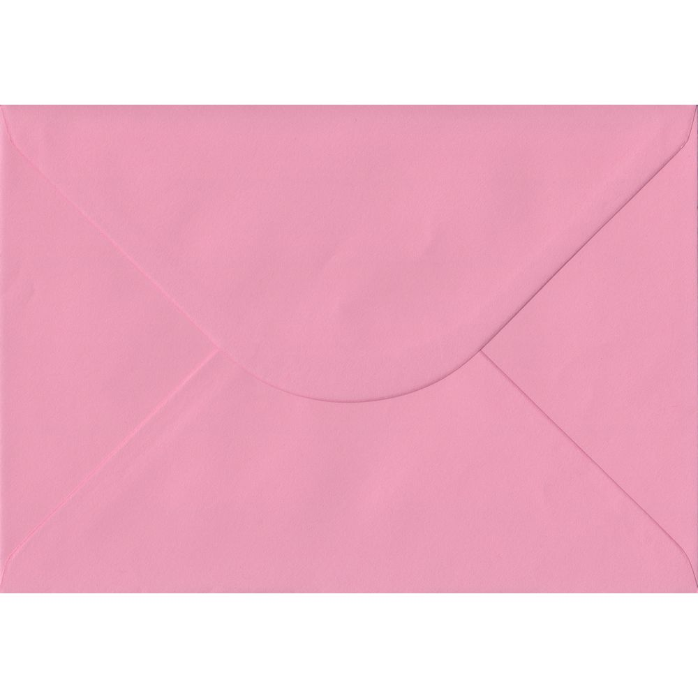 Pink Pastel Gummed C5 162mm x 229mm Individual Coloured Envelope