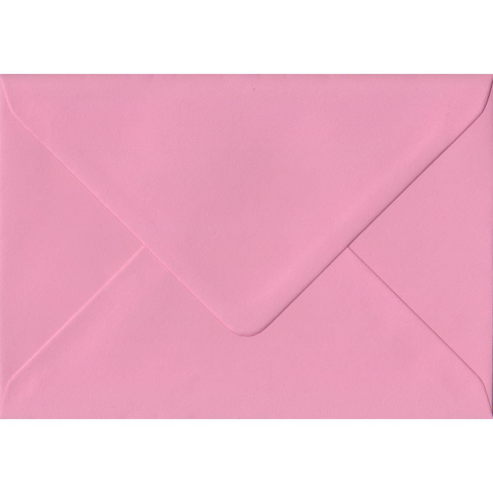 Pink Pastel Gummed C6 114mm x 162mm Individual Coloured Envelope