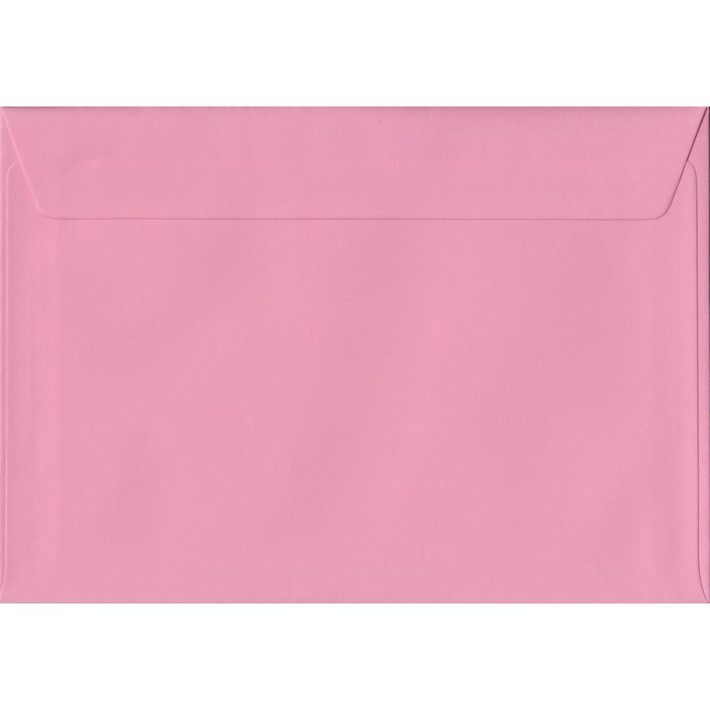 Pink Pastel Peel And Seal C5 162mm x 229mm Individual Coloured Envelope