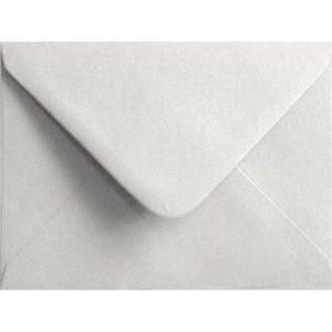 White Pastel Gummed C6 114mm x 162mm Individual Coloured Envelope