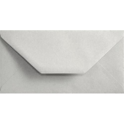 White Pastel Gummed DL 110mm x 220mm Individual Coloured Envelope