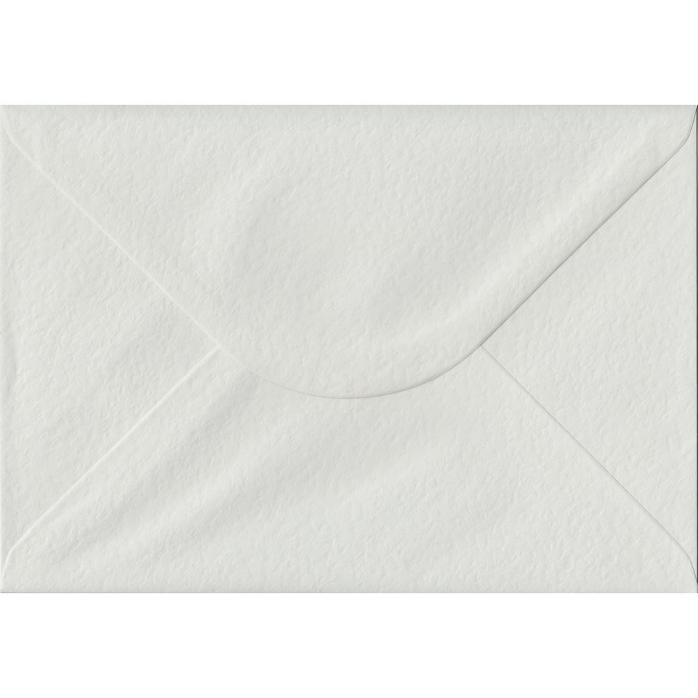 White Hammer Textured Gummed C5 162mm x 229mm Individual Coloured Envelope