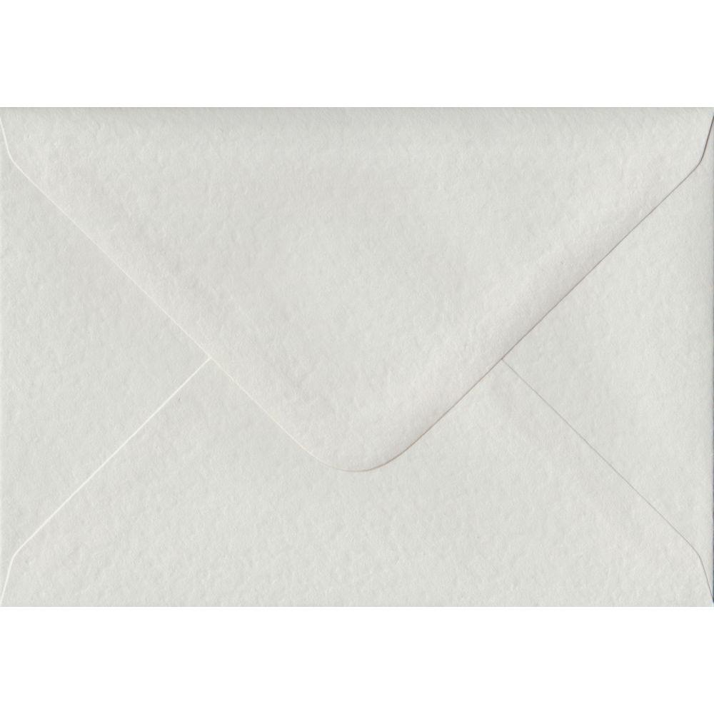 White Hammer Textured Gummed C6 114mm x 162mm Individual Coloured Envelope