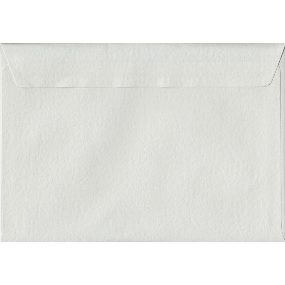White Hammer Textured Peel And Seal C5 162mm x 229mm Individual Coloured Envelope