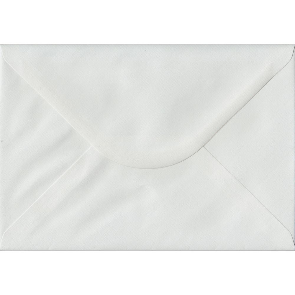 White Laid Textured Gummed C5 162mm x 229mm Individual Coloured Envelope