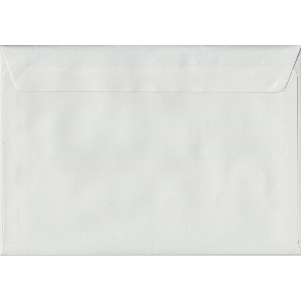 White Laid Textured Peel And Seal C5 162mm x 229mm Individual Coloured Envelope