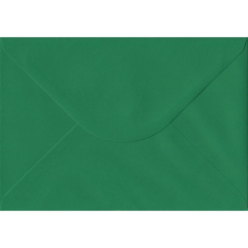 Xmas Green Premium Gummed C5 162mm x 229mm Individual Coloured Envelope