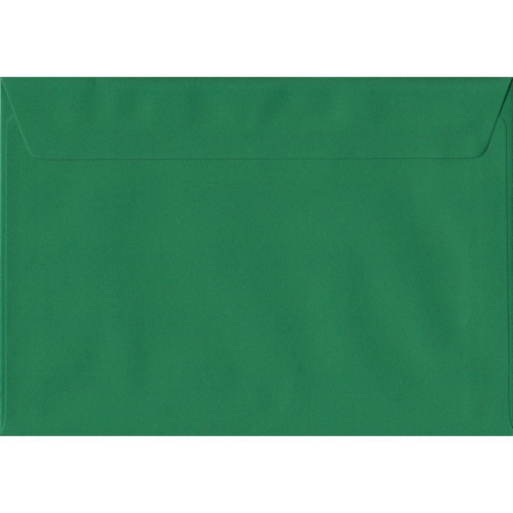 Xmas Green Premium Peel And Seal C5 162mm x 229mm Individual Coloured Envelope