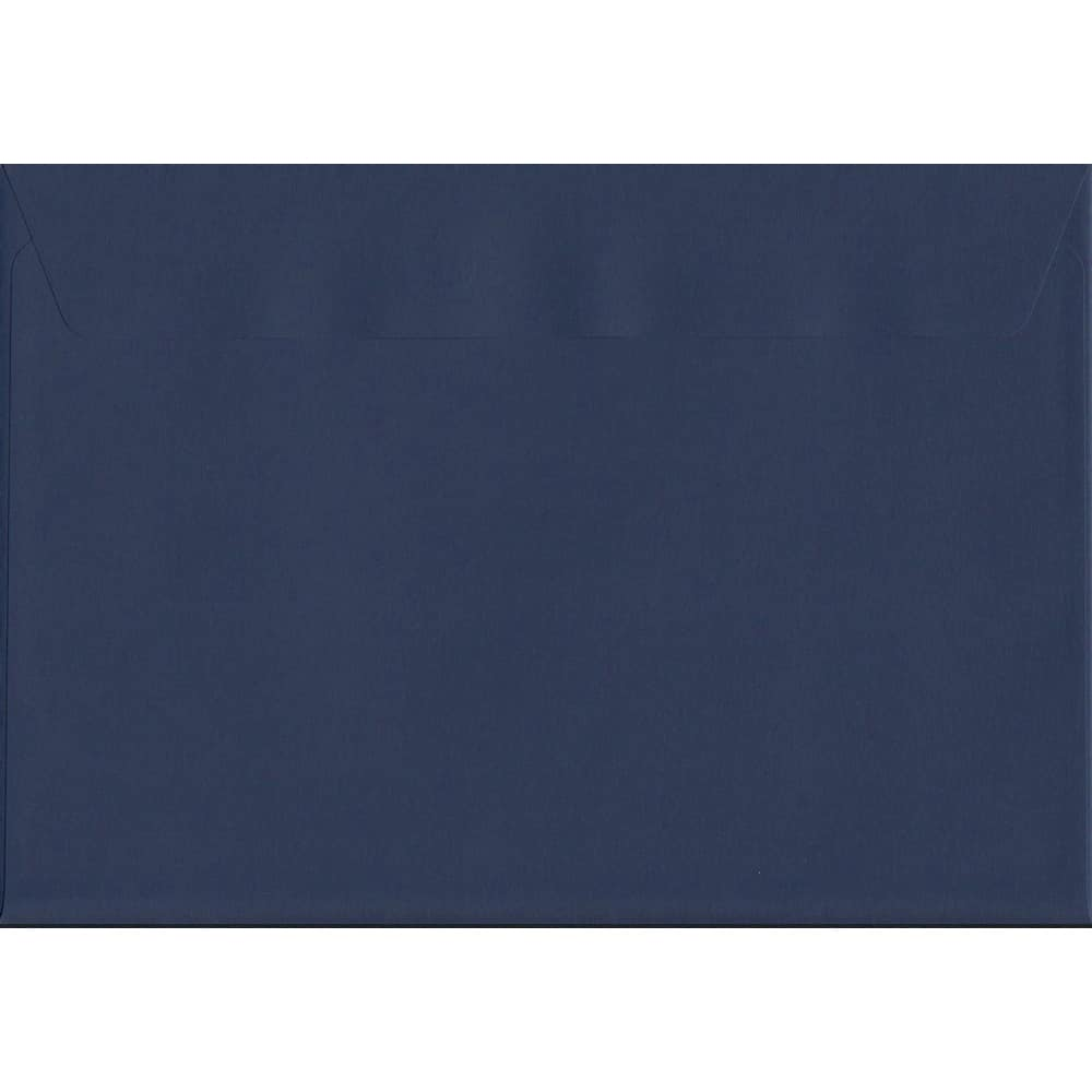 A4 Blue Envelope-Oxford Blue Peel/Seal C4 324mm x 229mm 120gsm Luxury Coloured Envelope