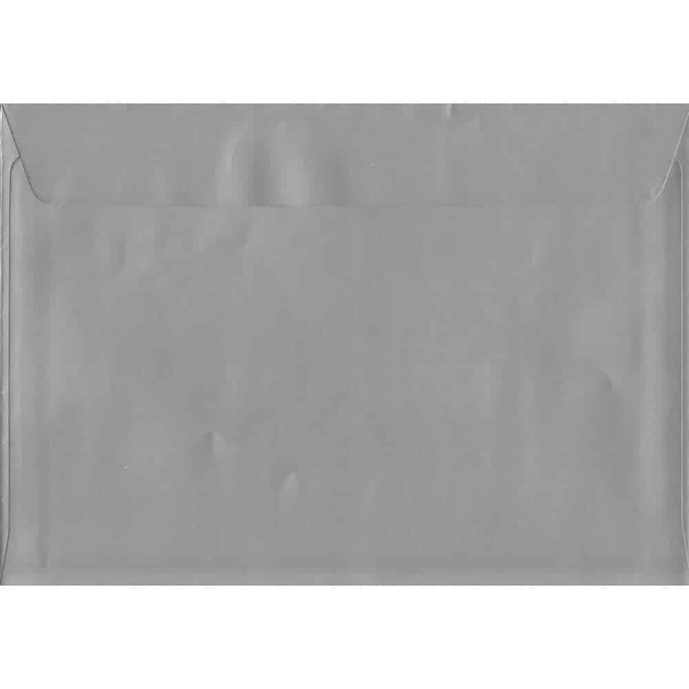 A4 Silver Envelope-Metallic Silver Peel/Seal C4 324mm x 229mm 130gsm Luxury Coloured Envelope