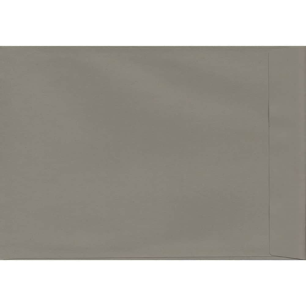 Storm Grey 229mm x 324mm 120gsm Peel/Seal C4/Full Size A4 Sized Pocket Envelope