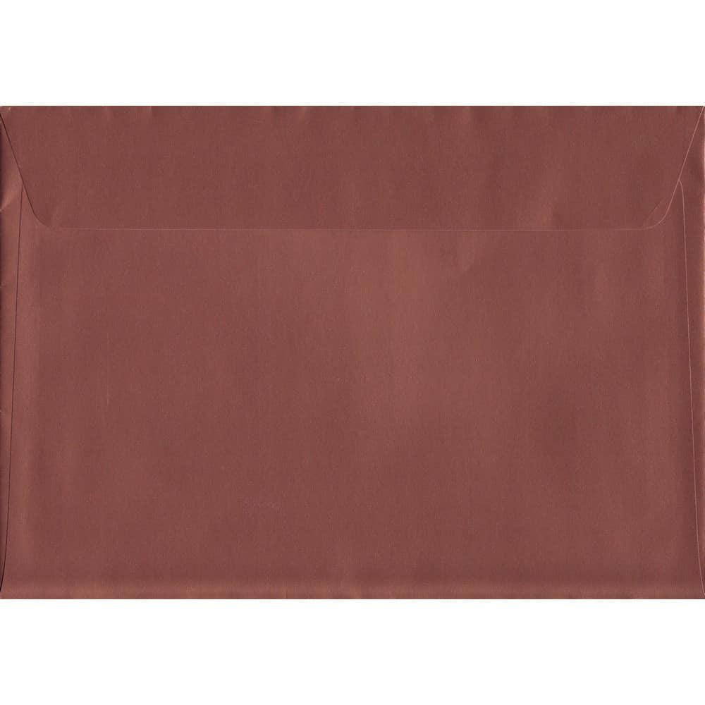 Bronze Peel/Seal C5 162mm x 229mm 130gsm Luxury Coloured Envelope