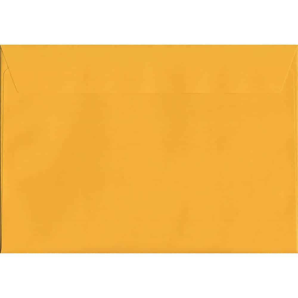 Golden Yellow Peel/Seal C5 162mm x 229mm 120gsm Luxury Coloured Envelope