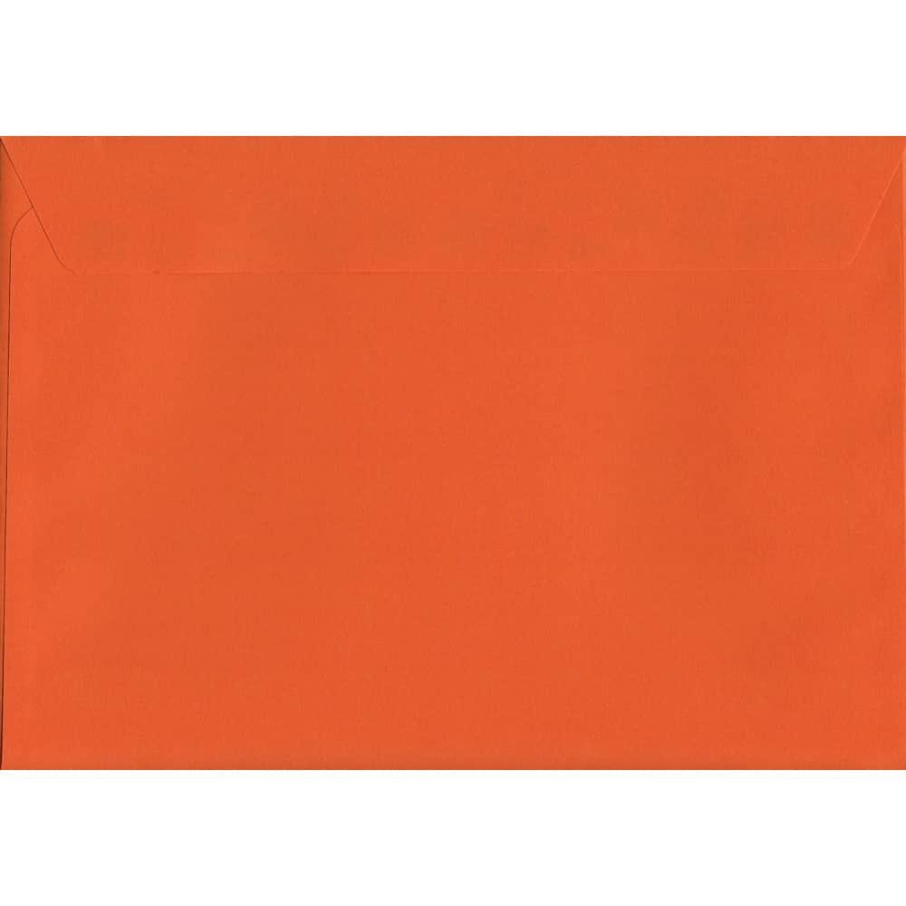 Sunset Orange Peel/Seal C5 162mm x 229mm 120gsm Luxury Coloured Envelope