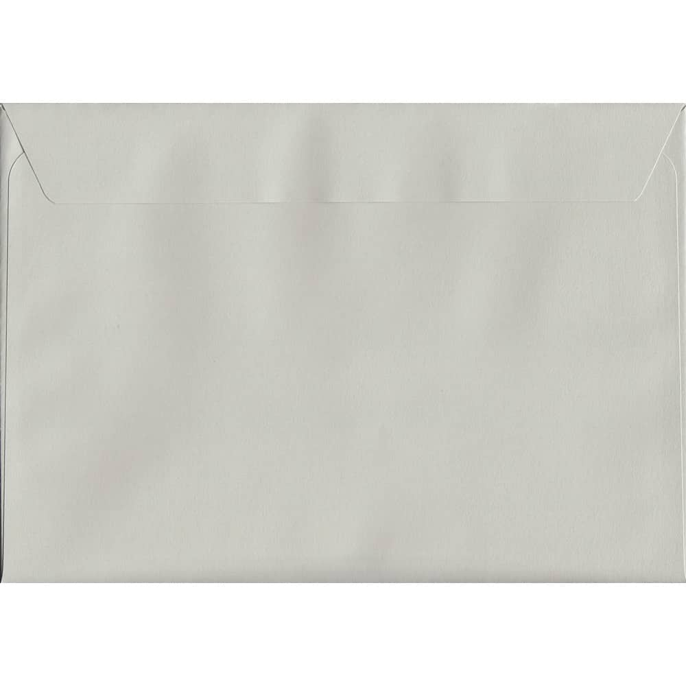 French Grey Peel/Seal C5 162mm x 229mm 120gsm Luxury Coloured Envelope