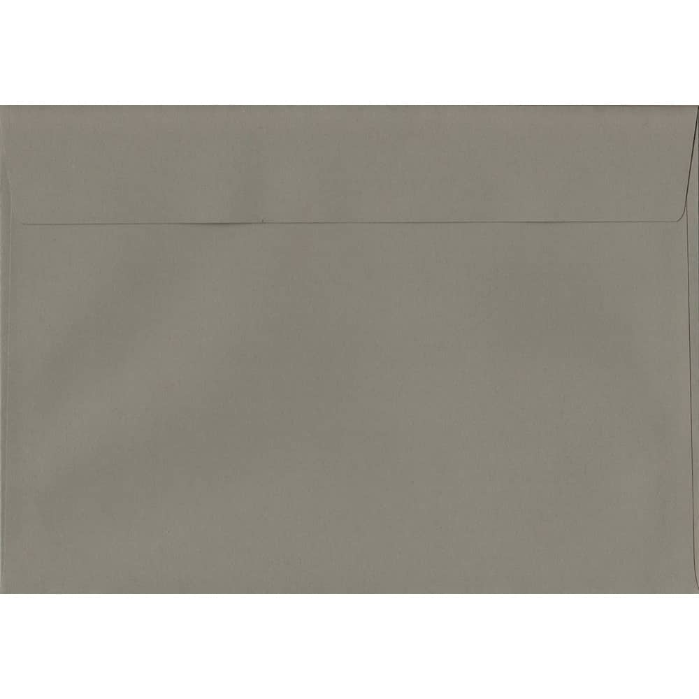 Storm Grey 162mm x 229mm 120gsm Peel/Seal C5/A5/Half A4 Sized Envelope