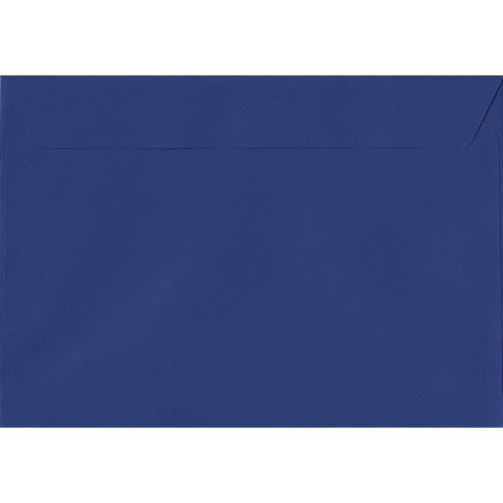 Victory Blue 162mm x 229mm 120gsm Peel/Seal C5/A5/Half A4 Sized Envelope