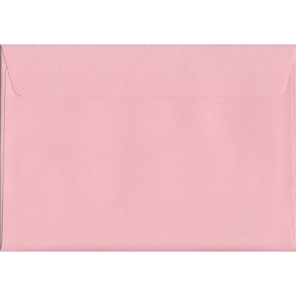 Baby Pink Peel/Seal C6 114mm x 162mm 120gsm Luxury Coloured Envelope