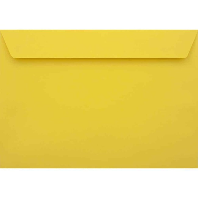 Canary Yellow Peel/Seal C6 114mm x 162mm 120gsm Luxury Coloured Envelope