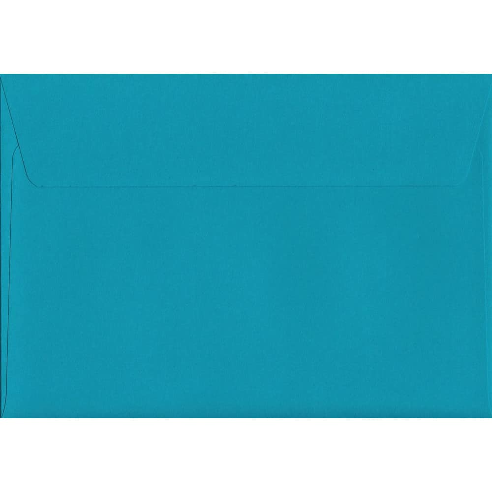 Caribbean Blue Peel/Seal C6 114mm x 162mm 120gsm Luxury Coloured Envelope